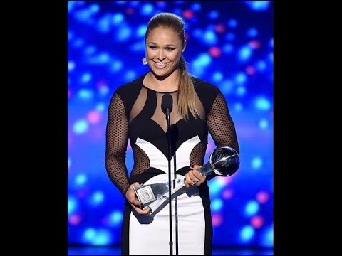 Rhonda Rousey ESPYS Best Female Athlete #ESPYs