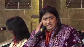 "Bharat Balvalli sings ""Bolava Vitthal"" composed by Kishori Amonkar."