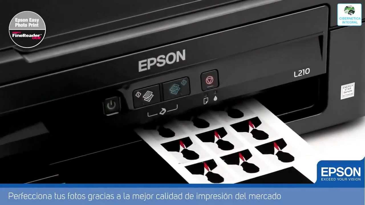 Multifuncional Epson L210 Sistema De Tinta Continua