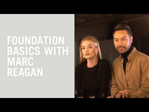 Marc Reagan Gives Rosie Huntington-Whiteley His Foundation Basics