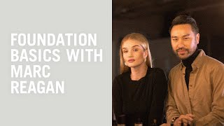 Makeup tutorial: foundation basics with Marc Reagan and Rosie Huntington-Whiteley