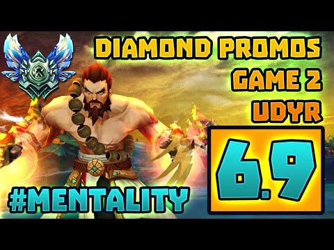 Diamond Promos Game 2 3 4 My Way   #Mentality