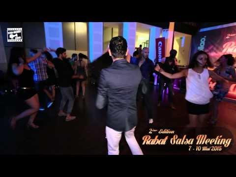 Andrea & Yacout - salsa dancing @ RABAT SALSA MEETING 2015