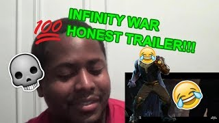 AVENGERS: INFINITY WAR - HONEST TRAILERS REACTION (KNOW YOUR MCU)
