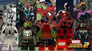 LEGO Marvel Superheroes 2 - Spider-Verse (Part 3) Custom Characters