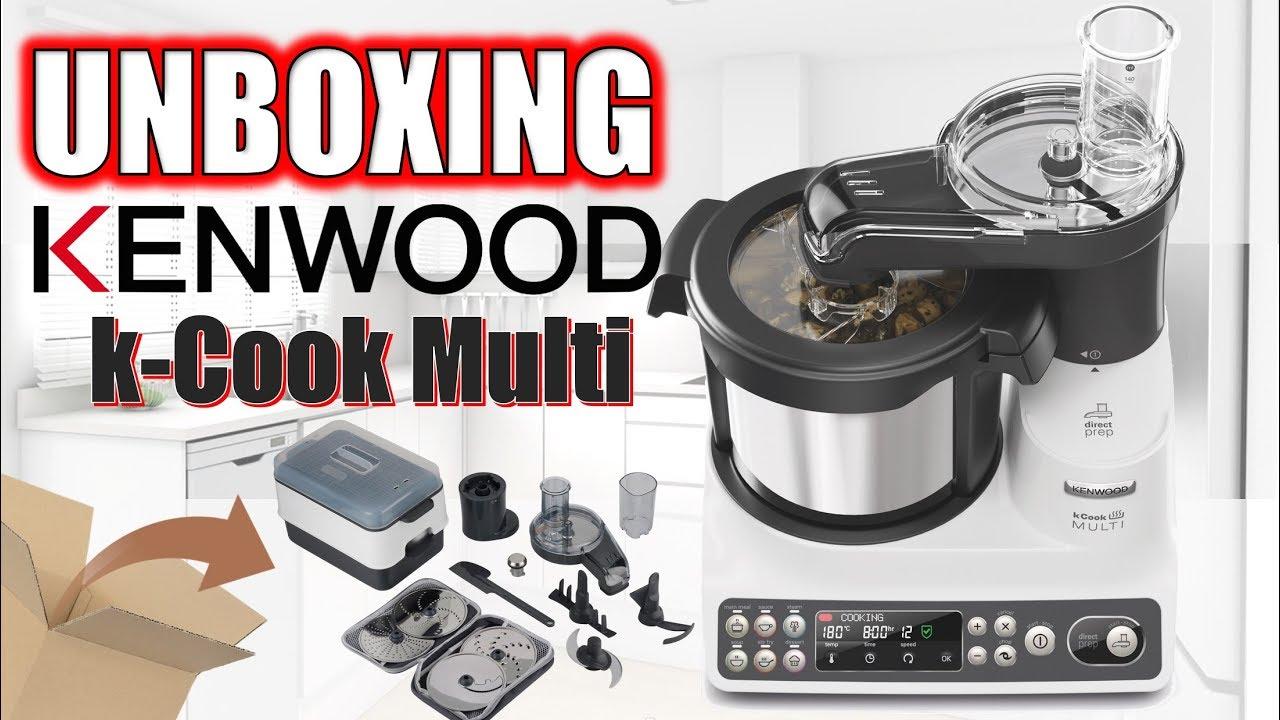 Como Funciona El Robot De Cocina Kenwood K Cook Multi Unboxing Completo Con Receta