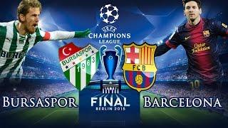 Fifa 15 Kariyer Modu - Bursaspor #53 Şampiyonlar Ligi Finali