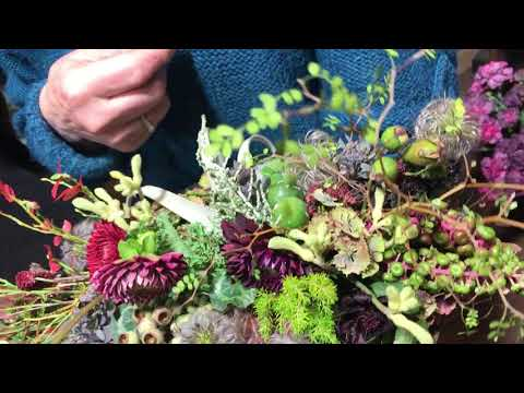 Francoise Weeks flowercreations what is woodland and how to do it interview Minna Mercke Schmidt