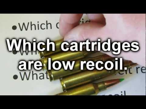 Low Recoil Rifles And Ammo