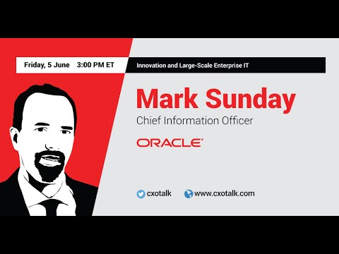 Oracle CIO: To Develop IT Agility, You Must Simplify, Standardize and Centralize