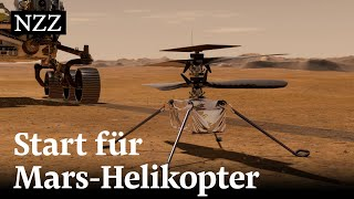 Mars Mission: So funktioniert der Nasa-Helikopter Ingenuity