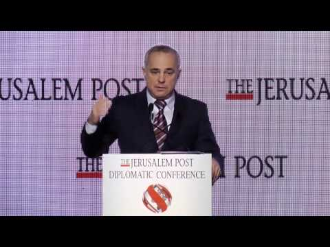 National Infrastructure and Energy Minister Yuval Steinitz