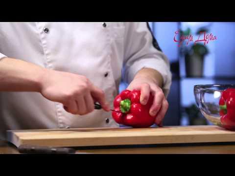 Как почистить болгарский перец от семян