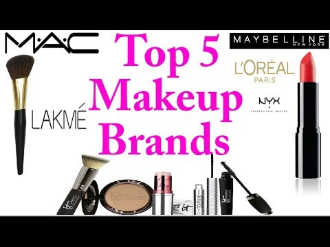 Top 5 Makeup brands | Best Makeup Brands 2017 | Most ...
