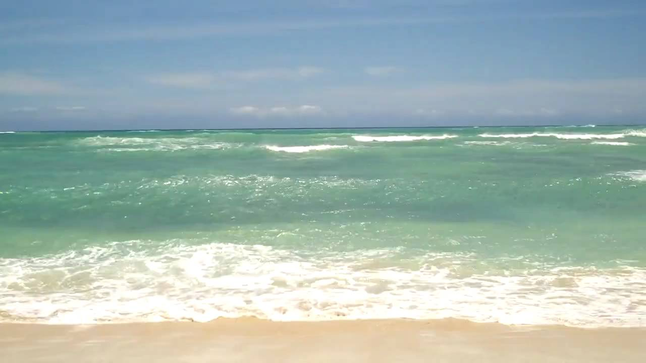 Barbers point beach - YouTube