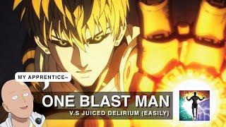 "One Blast Man ""melting"" DELIRIUM is actually pretty satisfying... *One Blast K.O ~ Ultimatum 3.14"
