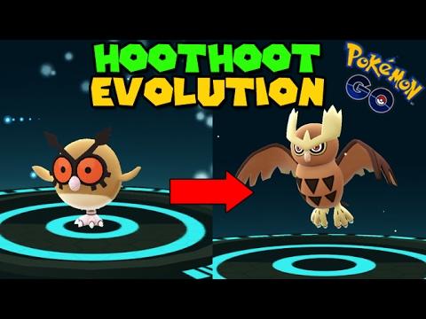 Evolving HOOTHOOT to NOCTOWL (Pokemon Go GEN 2 Evolution ...