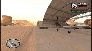 First-Person mod - GTA San Andreas - Green Goo - Airstrip mission 5