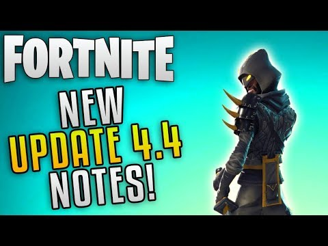 Fortnite Update 4.4 Patch Notes