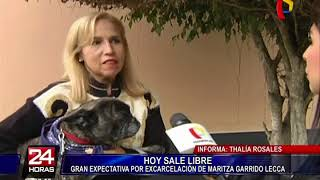 Maritza Garrido Lecca: tras salir de prisión llegaría a la casa de su madre en Miraflores