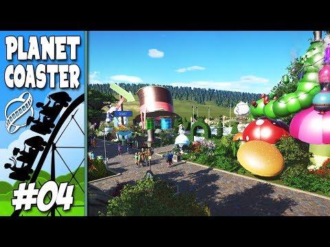 ALICE O PAIS DAS MARAVILHAS !!  Planet Coaster #4