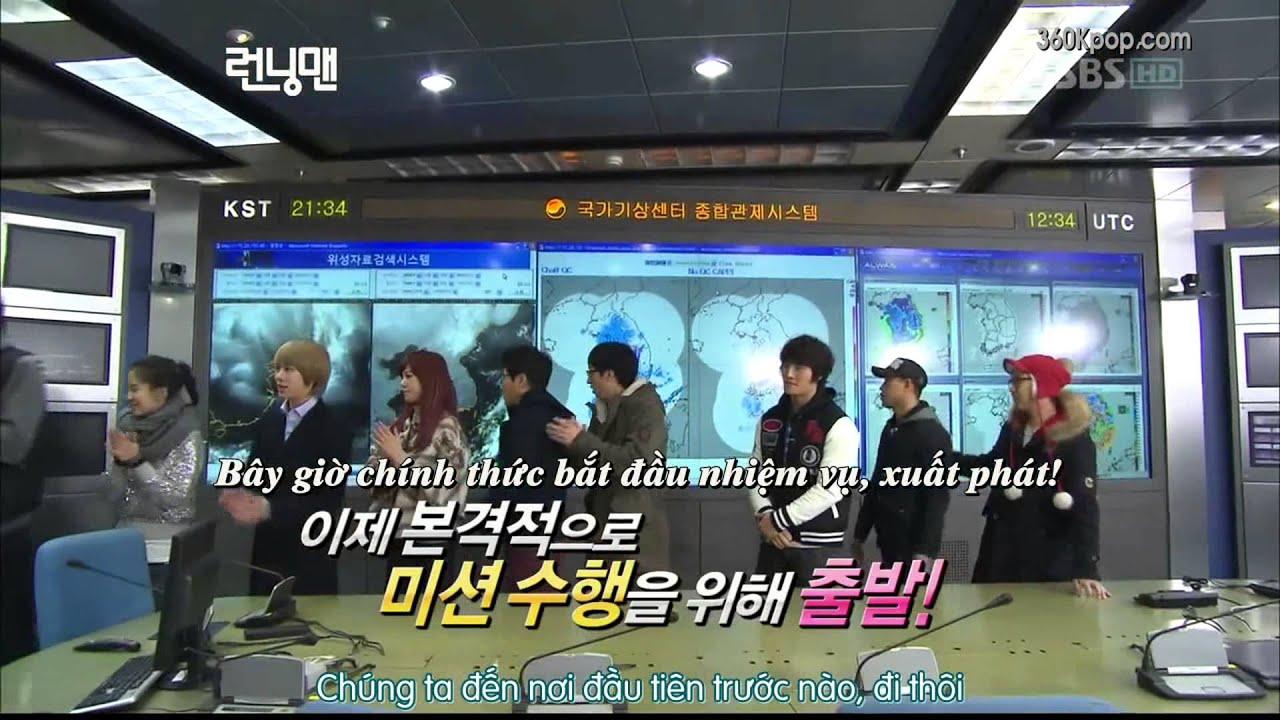 [Vietsub] Running Man Ep 20 (Super Junior Kim Hee Chul, After School Lizzy) 1/6