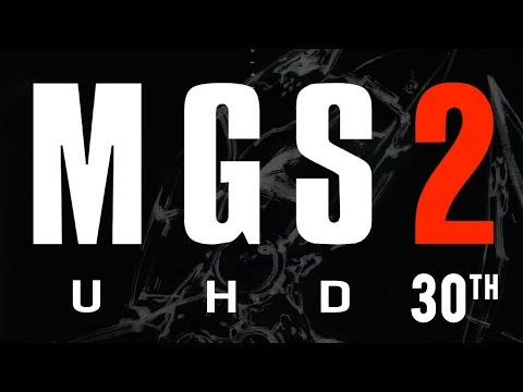Metal Gear Solid 2: 30th Anniversary Remaster Movie [4K 60FPS]