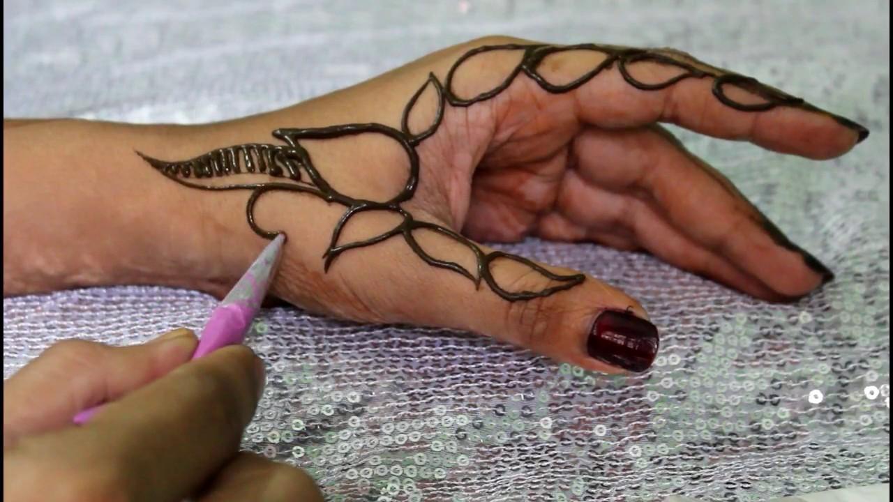 Mehndi For Thumb : Side thumb mehndi designlatest designmehndi henna
