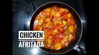 Chicken Afritada  Afritadang Manok
