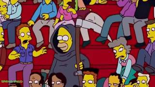 The Simpsons - Homer Becomes the Grim Reaper