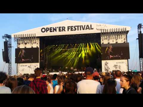 Hozier - FROM EDEN (Open`er Festival 2015 - 4th day, Gdynia)
