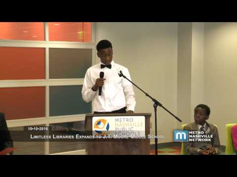 Limitless Libraries Event , J.T. Moore Middle School