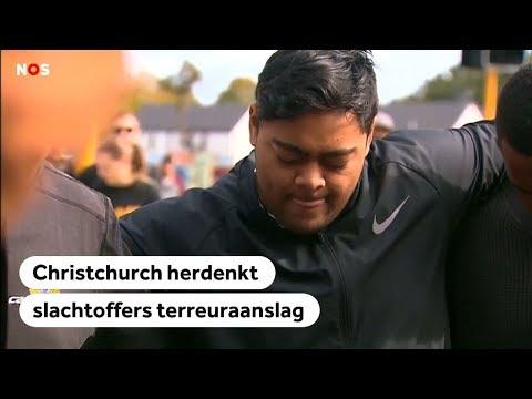 NIEUW-ZEELAND: Christchurch herdenkt slachtoffers terreuraanslag