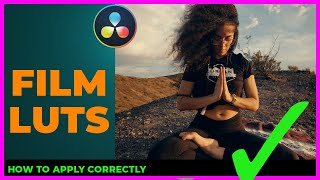 How to apply Fİlm LUTs [and why you are doing it WRONG] in 5 mins