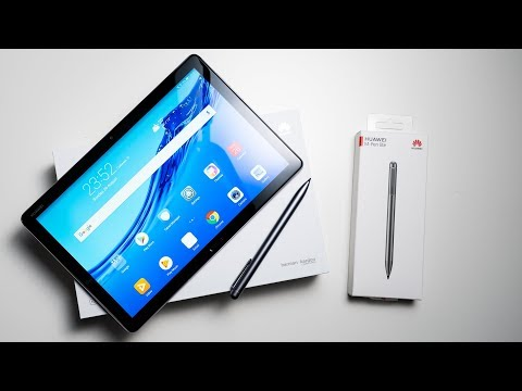 Huawei MediaPad M5 Lite 10 With M Pen Lite Unboxing & Hands On