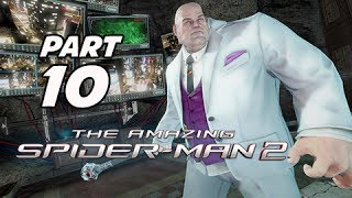 The Amazing Spider-Man 2 Walkthrough Part 10 - Wilson Fisk (PS4 1080p Gameplay)