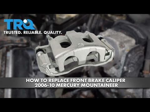 How To Replace Front Brake Caliper 2006-10 Mercury Mountaineer
