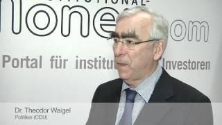 Dr. Theo Waigel zur EURO- Krise