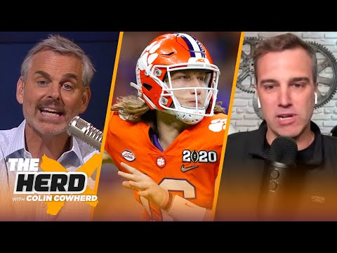 Colin and Analyst Daniel Jeremiah fill out their 2021 NFL Mock Draft | NFL | THE HERD