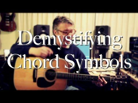 Demystifying Chords Symbols