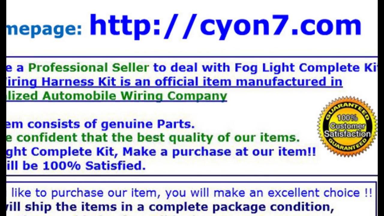 medium resolution of  2014 2016 hyundai santa fe 7 passenger fog light lamp complete kit