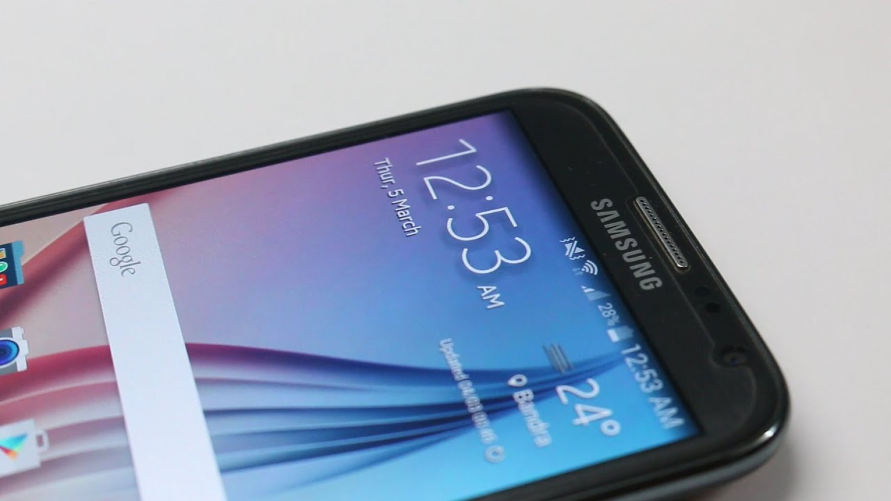 install samsung galaxy s6 weather widget on any android device