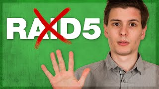 Why You Should NOT Use RAID 5 Storage ( But Use RAID 6! )