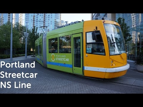 A Ride on The Portland Streetcar NS Line