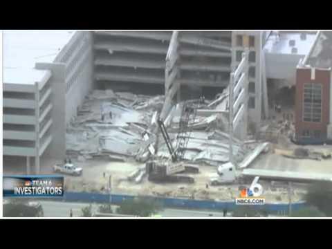 nbc miami Miami Dade College Garage Collapsed