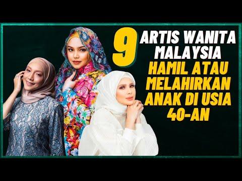 9 Artis Wanita Malaysia Melahirkan Anak Di Usia 40-an (Dato Siti Nurhaliza, Che Ta, Ziana Zain)