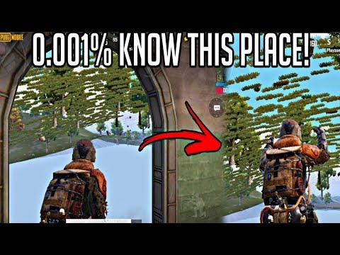 ONLY 0.01% KNOW THIS PLACE | SECRET PLACE IN ERANGEL 2.0 | (PUBG MOBILE) 1.0