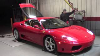 Ferrari 360 On the Dyno