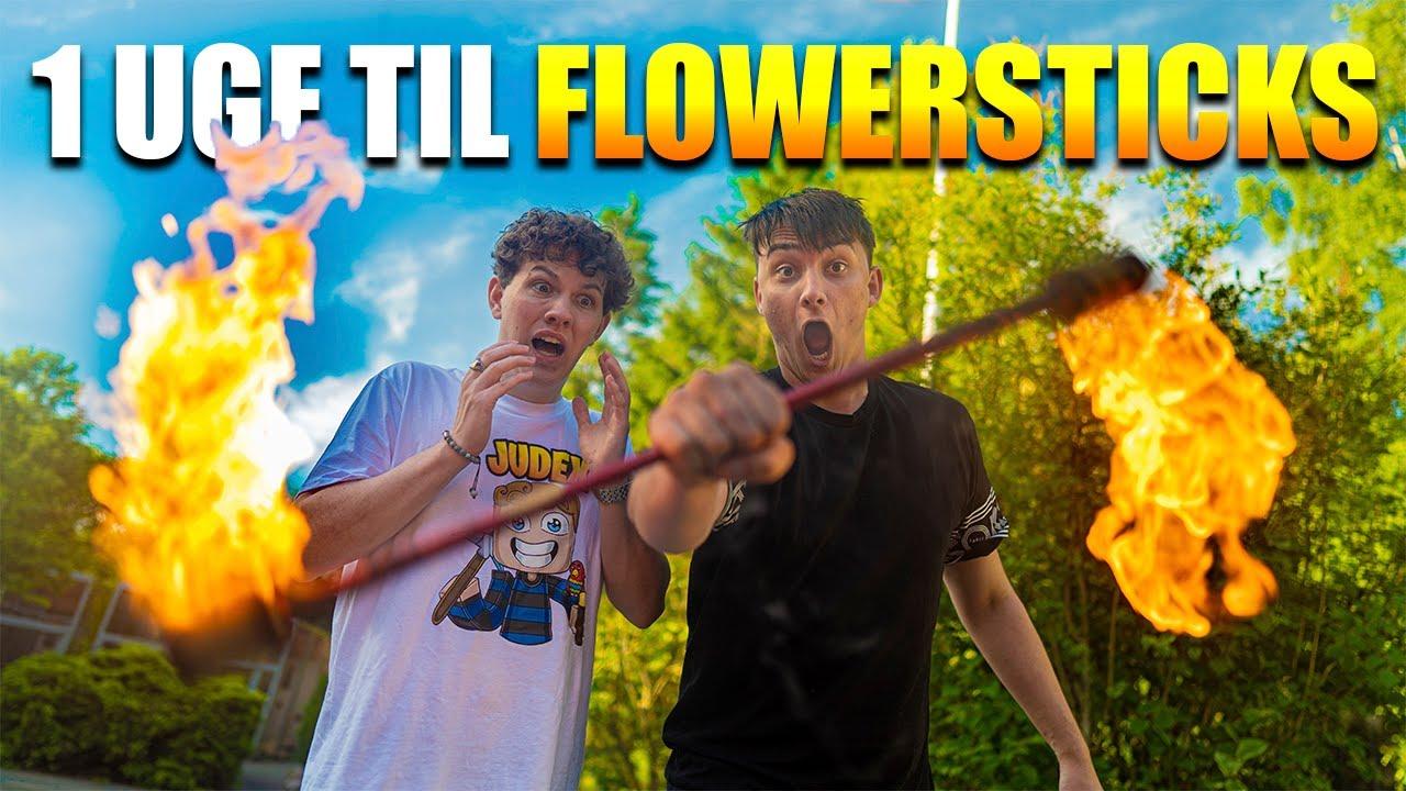 Jeg havde en uge til at lære Flower Sticks, og dette var resultatet...