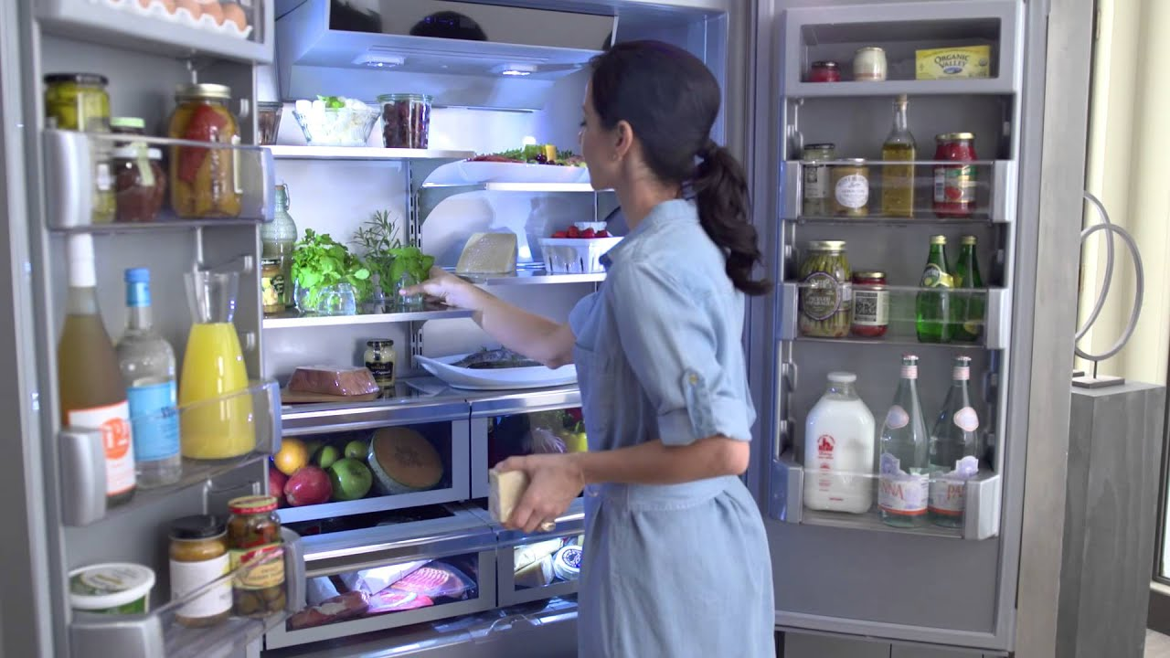 Built In Refrigerator | KitchenAid   YouTube